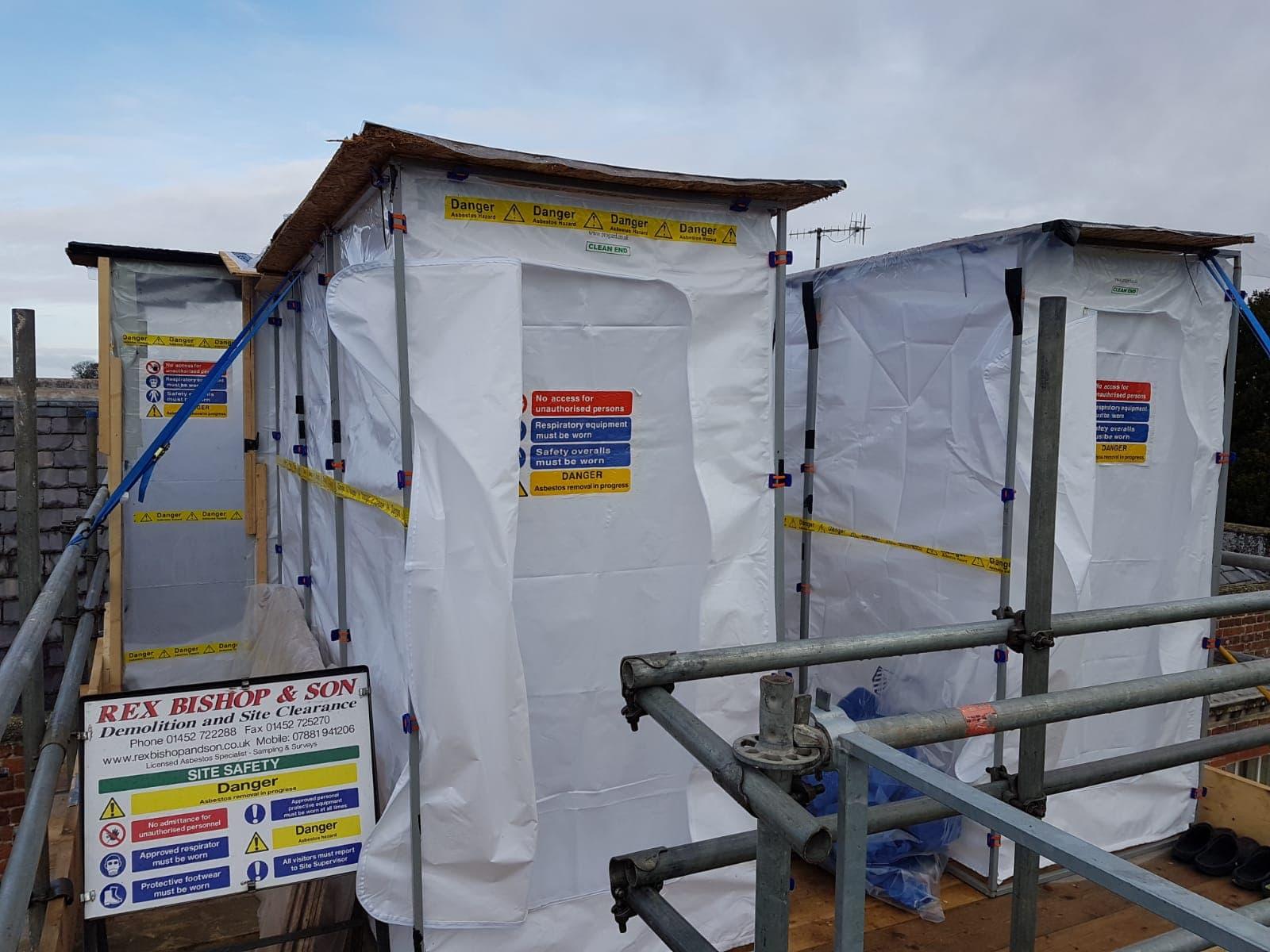 Asbestos Tents