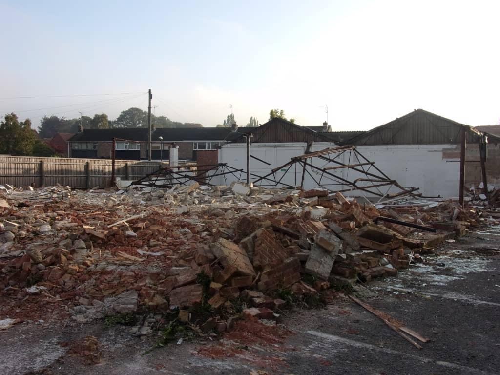 Pile of rubble