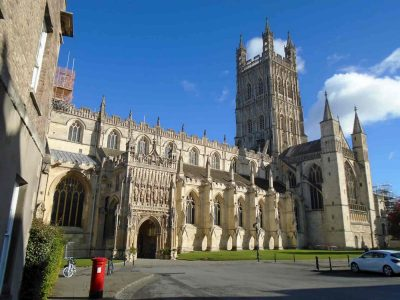Gloucester Cathedral from the outside