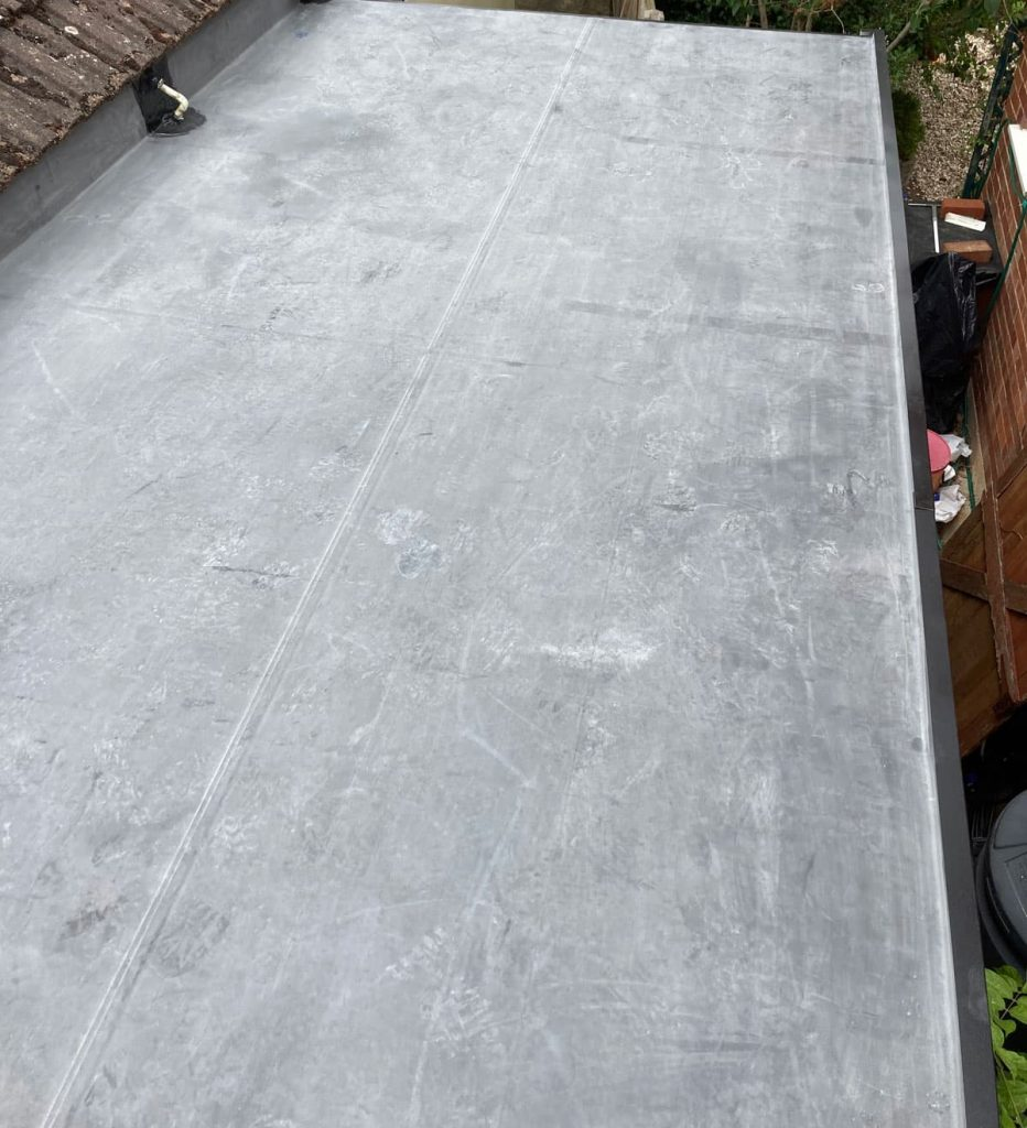 EPDM roofing installed in Gloucester by Rex Bishop and Son